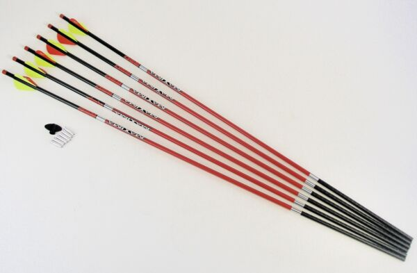 Carbon Express Maxima Red Hunting Arrows 350 BOX OF SIX 6 $67.96