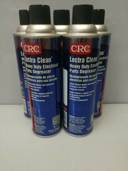Qty. 5 19oz Electronic Eectrical Electric Parts Cleaner Degreaser $24.00