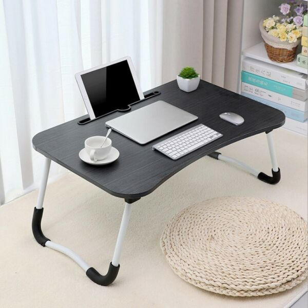 Foldable Portable Stand Bed Lazy Laptop Table Small Desk Breakfast Tray USA $21.88