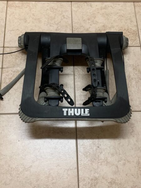 Thule Raceway Pro 2 Bike Rack Rear Trunk Mount W O Keys $149.99