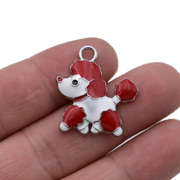 10pcs Stainless Steel Dog Charm Pendant Jewelry Making Bracelet Accessories DIY $4.99