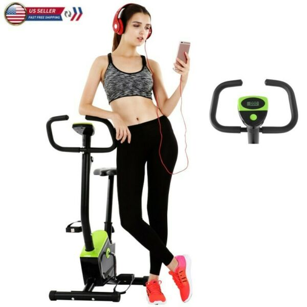 Stationary Exercise Bicycle Indoor Bike Cardio Health Cycling Home Fitness New $66.99