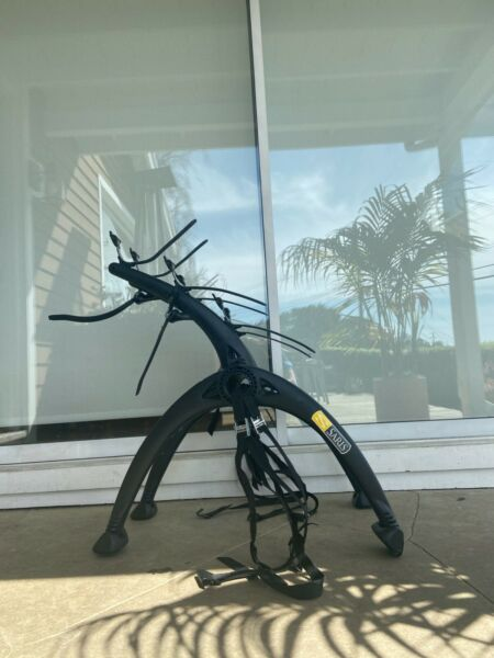 Black Saris 3 Bike Rack barely used great condition only used a couple times. $129.00