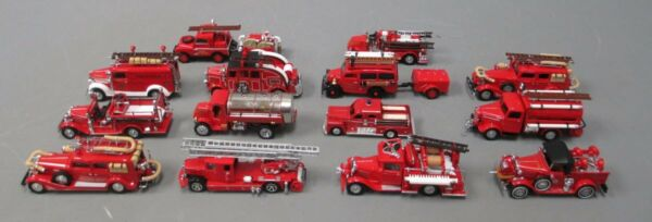 Corgi amp; Matchbox Die Cast Fire Engines 14 EX