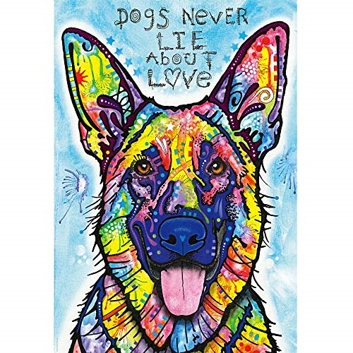 ANDSTON Puzzles for Adults 1000 Pieces Colorful Dog 1000 Piece Jigsaw Puzzles GBP 13.79