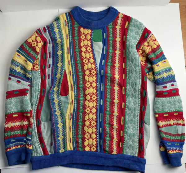 Coogi Sweater Size Medium Vintage Rare $200.00