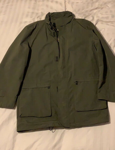 Burberry Green Coat Men's Large XL Fitting GBP 140.00