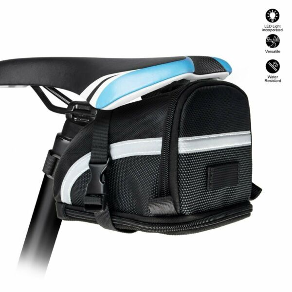 Bike Saddle Bag Tail Pouch Outdoor Cycling Mountain Seat Saddle Bicycle Back $9.99