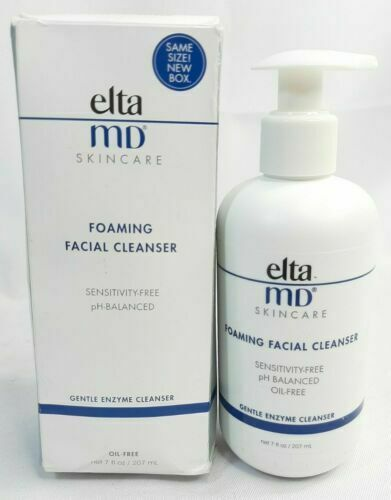 EltaMD ELTA MD Foaming Facial Cleanser 7oz 207ml Brand New in Box Exp: 12 2023
