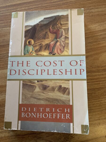 The Cost of Discipleship by Dietrich Bonhoeffer 1995 Trade Paperback $7.99