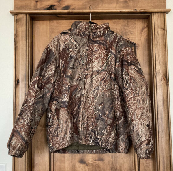 Mossy Oak Duck Blind Camo Insulated Hunting Jacket 2 Layers For All Seasons