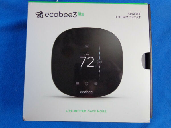 Ecobee3 Lite Smart Thermostat For Parts $49.00