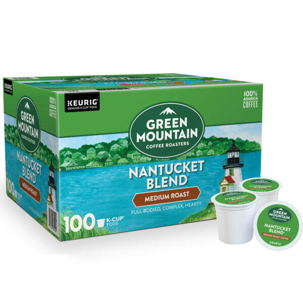 Green Mountain Coffee Nantucket Blend K Cup Pods 100 ct. Free Shipping