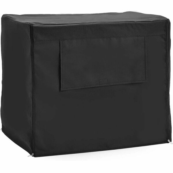 Universal Fit Dog Crate Cover with Side Windows XL Pet Polyester Pet Kennel $16.99