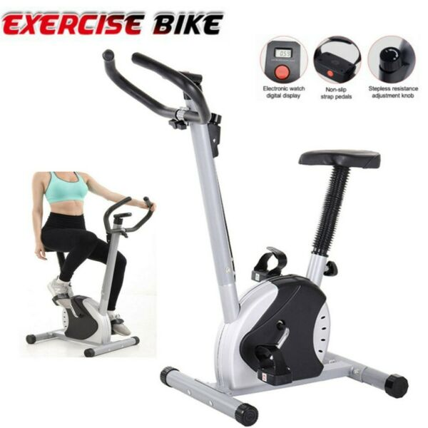 Foldable Exercise Bike Cardio Indoor Cycling Home Fitness Stationary Equipment $88.95