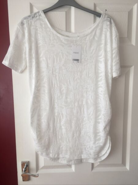 NEXT LADIES LONG TOP SIZE 10 BRAND NEW