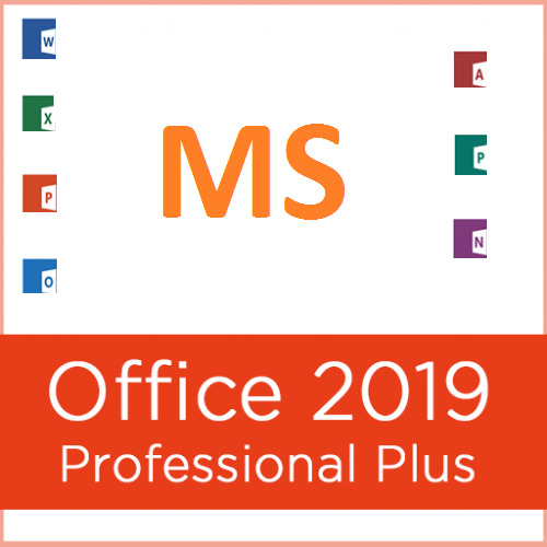 MS Office 2019 Pro Plus 1PC Genuine License w Disk HUNDREDS SOLD SEE FEEDBACK $64.49