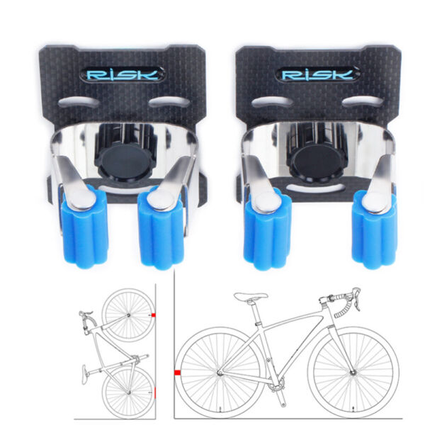 Bike Wall Mounted Mount Hook Rack Holder Cycling Bicycle Storage Hanger Stand $11.69