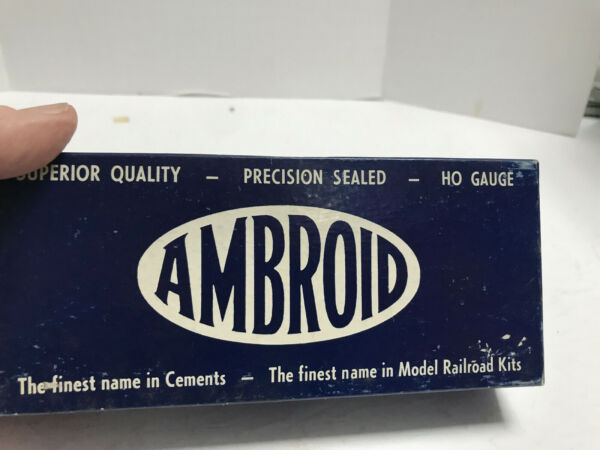 HO Ambroid K 2 Stock Car Wood Kit New Old Stock complete in OB $19.99