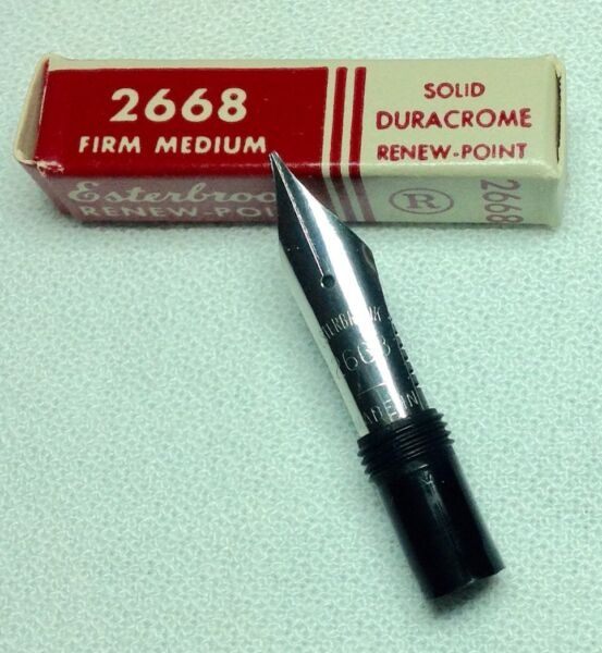 Esterbrook Nib Renew Point 2668 Firm Medium General Writing New In Box Product