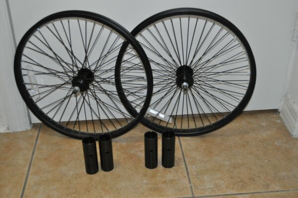 Mongoose BMX 20quot; Bike Wheelset Front amp; Rear 20quot; Front Pegs included $89.99