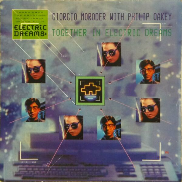 GIORGIO MORODER #x27;TOGETHER IN ELECTRIC DREAMS#x27; PICTURE SLEEVE 7quot; SINGLE VS 713