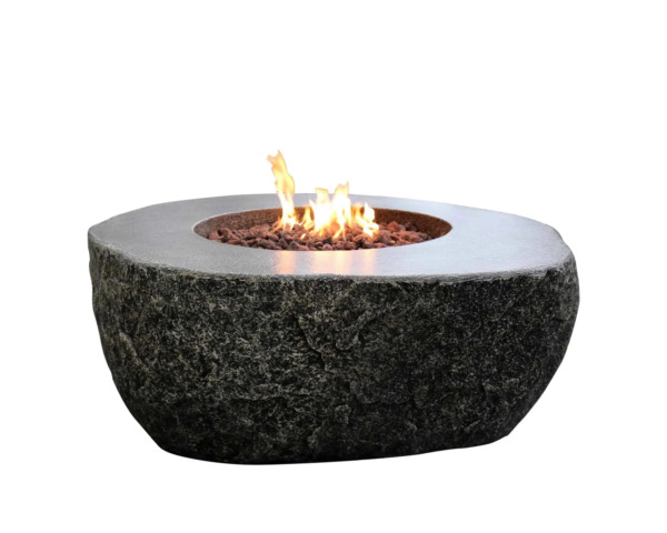 Elementi quot;Fiery Rockquot; Fire Table Propane