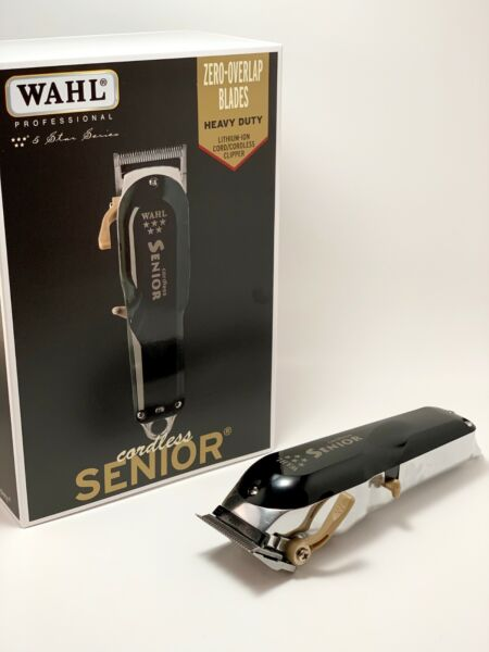 Wahl 5 Star Senior Cordless Cord Barbers Professional Clipper LIMITED