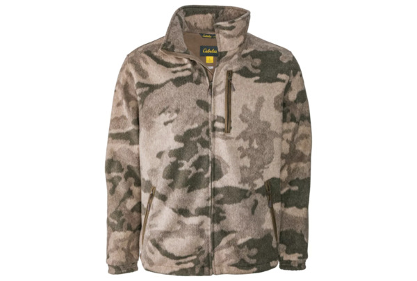 Cabela#x27;s Men#x27;s Hunting Camo Jacket Wooltimate Wool Blend