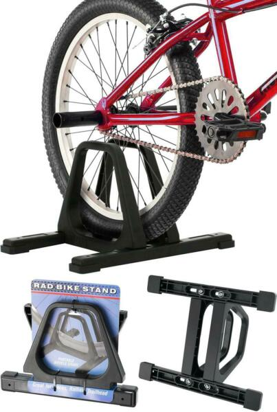Bike Stand Portable Cycle Floor Rack Bicycle Park For Smaller Bikes Lightweight $21.96