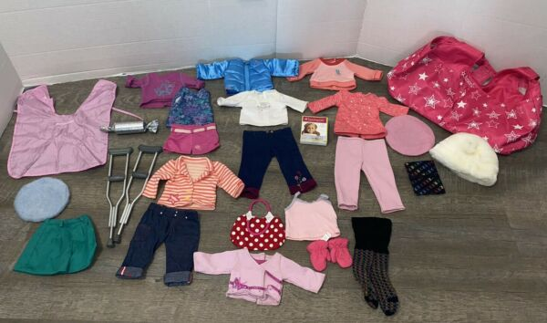 Lot of American Girl Pleasant company 18quot; Doll Clothes and Accessories