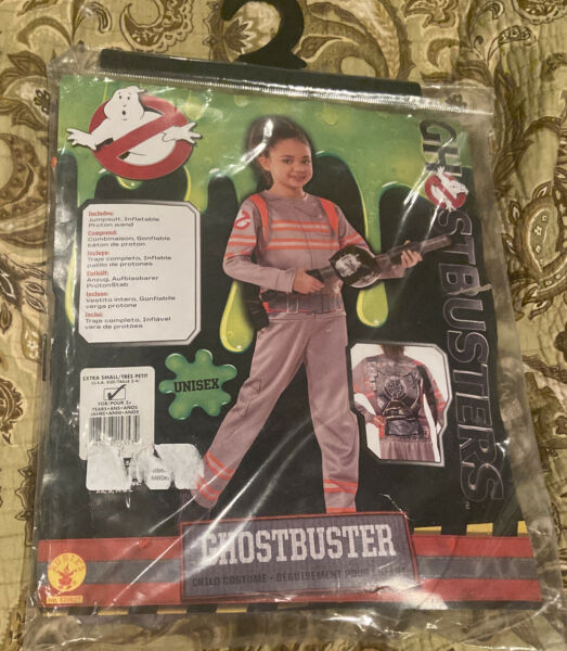 Ghostbusters Kids Child Costume Size XS