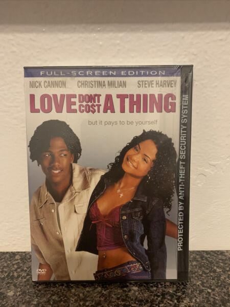 Love Dont Cost a Thing DVD 2004 Full Screen $10.00