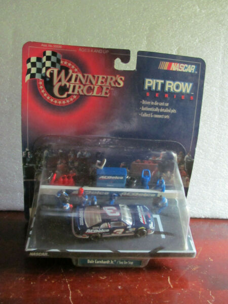 DALE EARNHARDT JR. 1 64 DIE CAST PIT ROW SET NEVER OPENED RARE