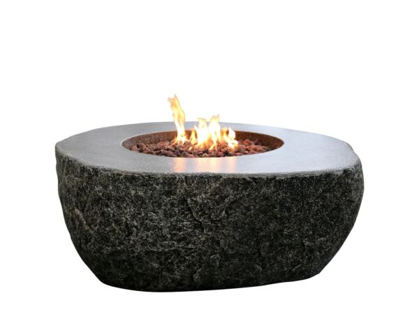 Elementi Fiery Rock Fire Table Propane