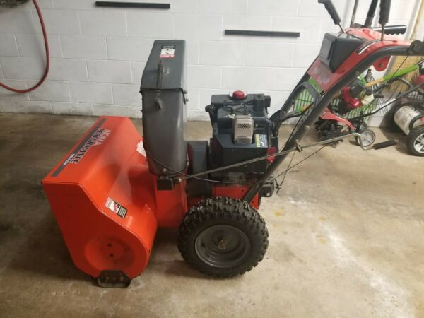 Murray 27quot; Noma Performance Snow Blower Electric Start New Parts 6 Speed