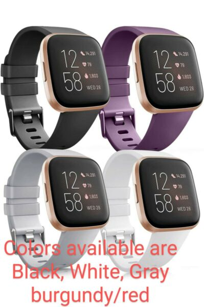 💥4 package Vancle for Fitbit Versa Bands Replacement Wristband💥 $22.80