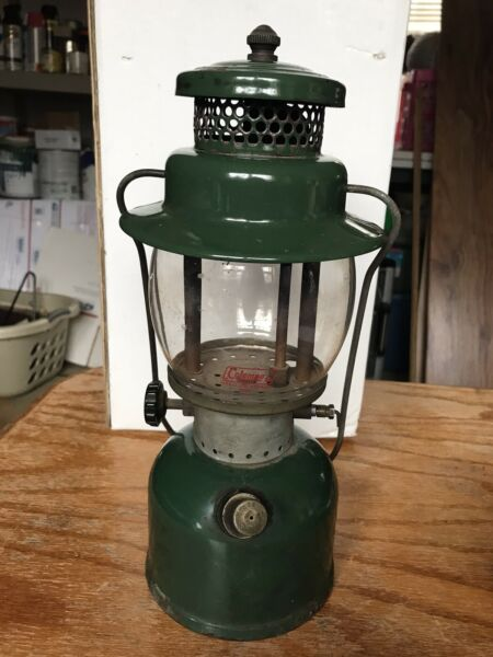Coleman 242C Lantern 7 4 on bottom $110.00