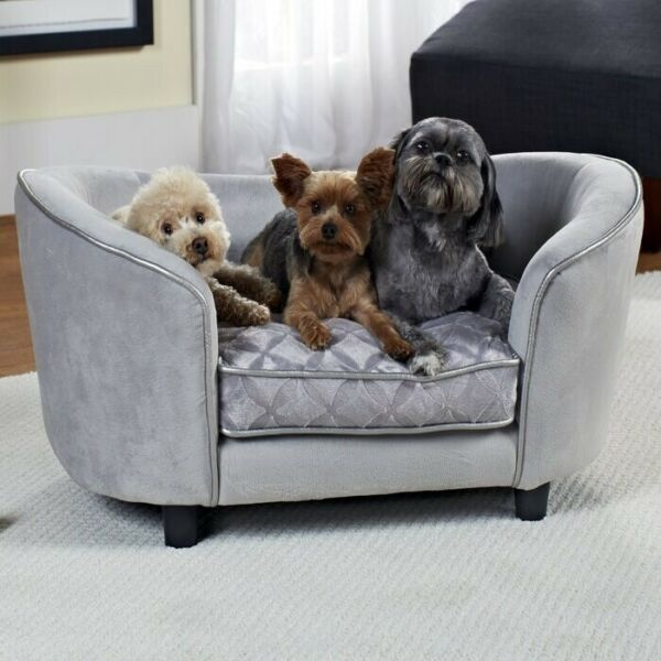 quot;100% Velvet Cushion Large Dog Sofa Cat Sofa CUTE Best Pet Furniture For Dogs $199.99