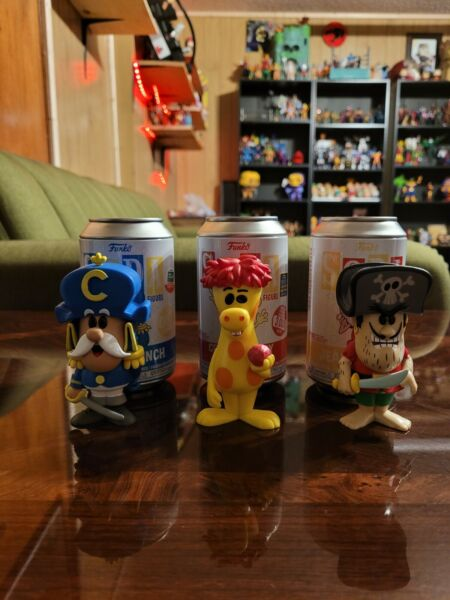 Funko Soda Cap'n Crunch Jean Lafoote Crunchberry Beast Exclusive Commons