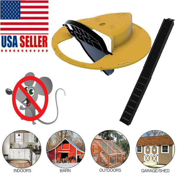 Slide Bucket Lid Mouse Rat Trap Flip N Slide Mouse Trap Bucket Mousetrap Catcher $27.99
