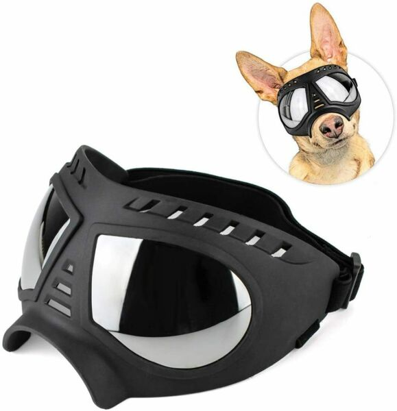 InnoPet Dog Sunglasses Medium to Large Breed Dogs Goggles,Snowproof Black $29.49