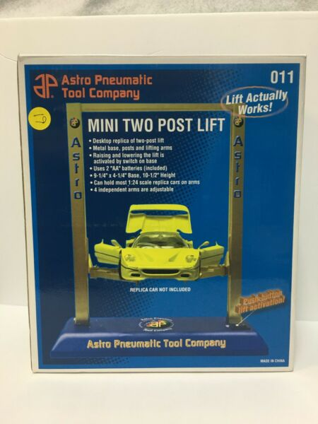 MINI TWO POST ELECTRIC METAL LIFT FOR 1 24 amp; 1 18 scale DIECAST MODEL CARS $32.85