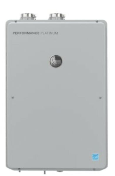 Rheem ECOH200DVLN Platinum 9.5 GPM Natural Gas Indoor Tankless Water Heater $835.35