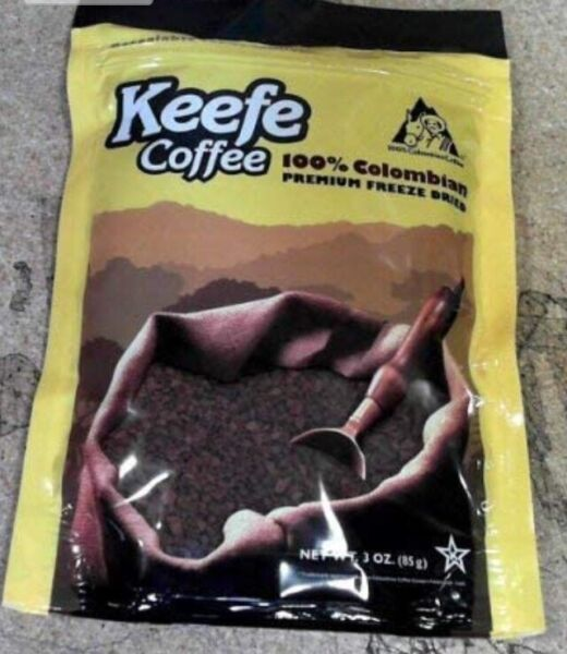 Keefe Colombian Instant Coffee New $8.83