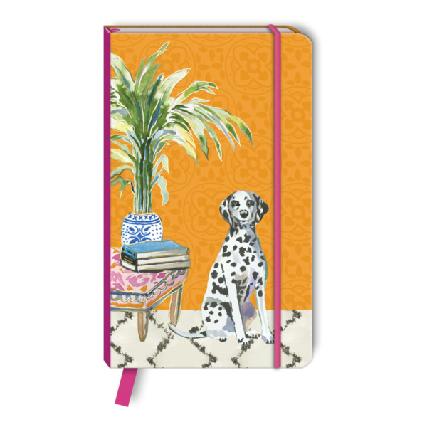 Punch Studio E1 Pet Dog Leather Notebook 120pgs 3.5x5.75#x27;#x27; Dalmatian 46846 $13.99