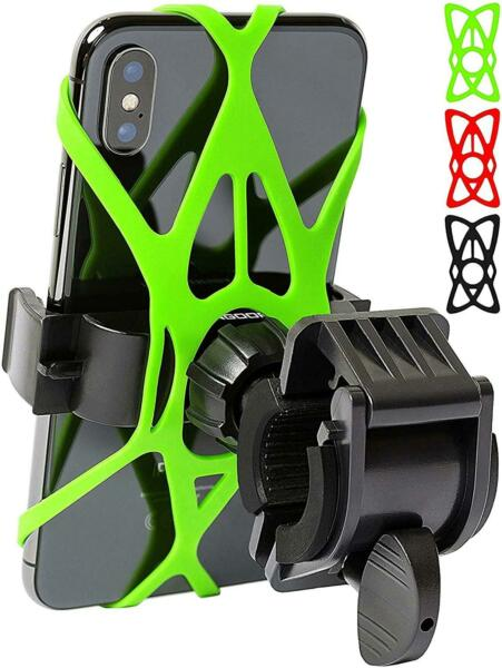 Cell Phone Holder for Bicycle Handlebar Easy to Install Bike Accessories $13.58