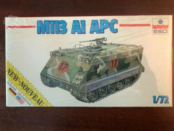 ESCI M113 A1 APC US Army Armored personnel carrier 1 72 Scale Model Kit NIB $13.99
