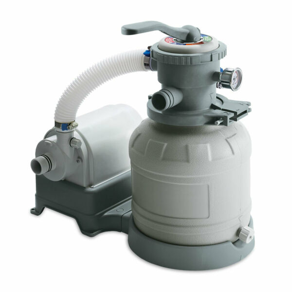 Summer Waves 10 Inch Sand Filter Pump System for Above Ground Pools Used $122.99