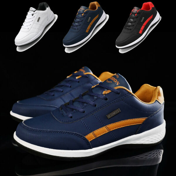 Men#x27;s Casual Walking Running Shoes Athletic Tennis Sports Travel Sneakers Size